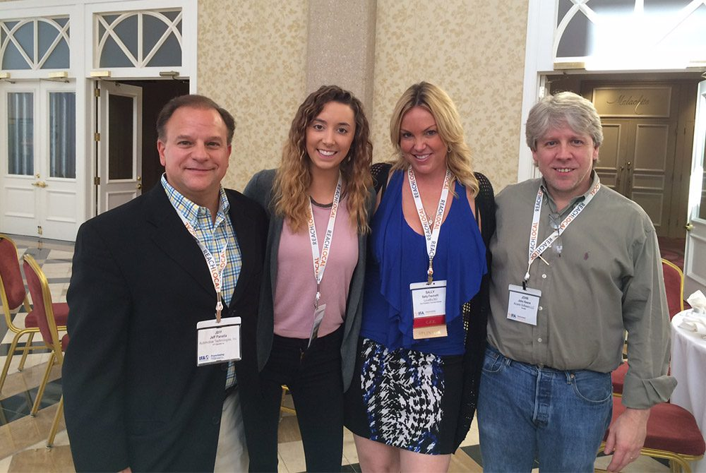 Hot Dish team at the IFA FranTech Digital Marketing and Technology Conference