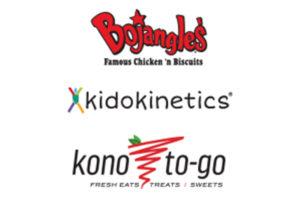 Bojangles, Kidokinetics, and Kono-to-go logos