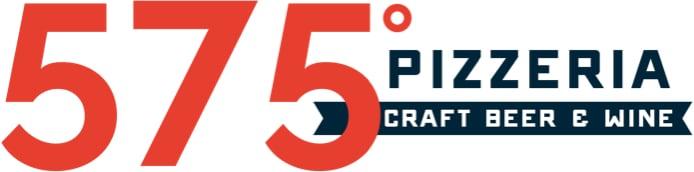 575 Pizzeria horizontal logo