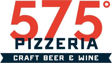 575 pizzeria stacked logo
