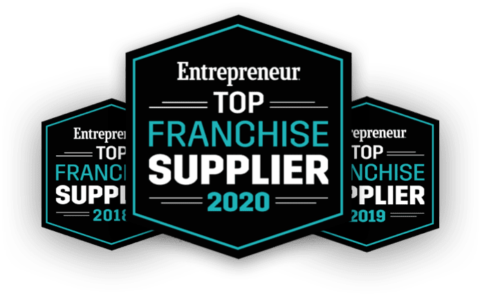 Entrepreneur Top Franchise Supplier (2018, 2019, 2020)